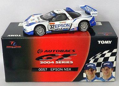 【中古】ミニカー TL0057 エプソン NSX Castrol #32(ホワイト×ブルー) 「トミカリミテッド オートバックス GT 2004シリーズ」 [719571]