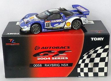 【中古】ミニカー TL0058 レイブリック NSX SP AIR #100(パープル) 「トミカリミテッド オートバックス GT 2004シリーズ」 [724230]