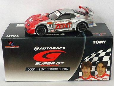 【中古】ミニカー TL0061 ZENT セルモ スープラ TOSHIN #38(レッド×シルバー) 「トミカリミテッド オートバックス GT 2005シリーズ」 [726340]