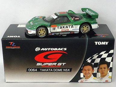 【中古】ミニカー TL0064 TAKATA 童夢 NSX MOTUL #18(グリーン×ホワイト) 「トミカリミテッド オートバックス GT 2005シリーズ」 [719625]