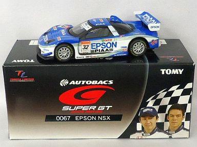 【中古】ミニカー TL0067 エプソン NSX PIAA #32(ホワイト×ブルー) 「トミカリミテッド オートバックス GT 2005シリーズ」 [731498]