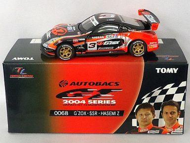 【中古】ミニカー TL0068 G'ZOX SSR ハセミZ POTENZA #3(ブラック×オレンジ)  「トミカリミテッド オートバックス GT 2004シリーズ」 [719564]