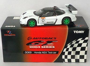【中古】ミニカー TL0069 ホンダ NSX テストカー BRIDGESTONE #0(ホワイト) 「トミカリミテッド オートバックス GT 2004シリーズ」 [740803]
