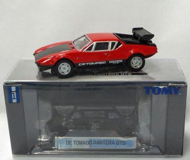 【中古】ミニカー 1/61 TL0033 デ・トマソ・パンテーラ GTS(レッド×ブラック) 「トミカリミテッド」 [670995]