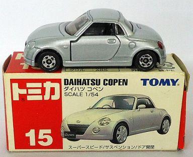 【中古】ミニカー 1/54 ダイハツ コペン(シルバー/赤箱) 「トミカ No.15」