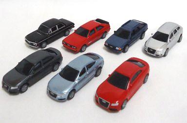 【中古】ミニカー 全7種セット 「サントリーコーヒーボス アウディコレクション プルバックカー」
