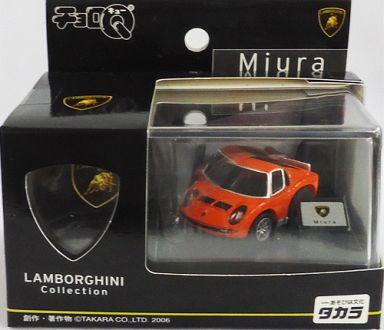 【中古】ミニカー チョロQ ランボルギーニ ミウラ (オレンジ) 「外車シリーズ 第6弾」