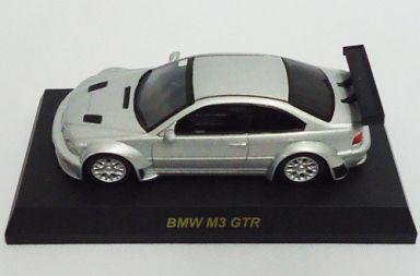 【中古】ミニカー 1/64 BMW M3 GTR(シルバー) 「BMW&MINI ミニカーコレクション」 サークルK・サンクス限定