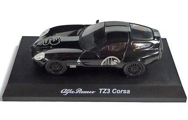 【中古】ミニカー 1/64 Alfa Romeo TZ3 Corsa(ブラック) 「アルファロメオ ミニカーコレクション 3」 サークルK・サンクス限定