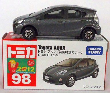【中古】ミニカー トヨタ アクア(初回特別カラー) 「トミカ No.98」