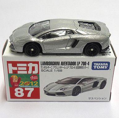 【中古】ミニカー ランボルギーニ アヴェンタドール 初回特別カラー 「トミカ No.87」