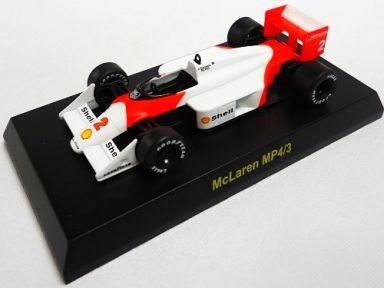 【中古】ミニカー 1/64 McLaren MP4/3 No.2(ホワイト×レッド) 「マクラーレン ミニカーコレクション」 サークルK・サンクス限定