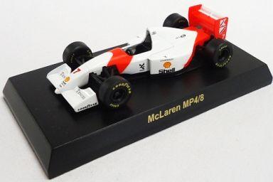 【中古】ミニカー 1/64 McLaren MP4/8 No.7(ホワイト×レッド) 「マクラーレン ミニカーコレクション」 サークルK・サンクス限定