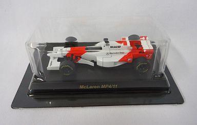 【中古】ミニカー 1/64 McLaren MP4/11 No.7(ホワイト×レッド) 「マクラーレン ミニカーコレクション」 サークルK・サンクス限定