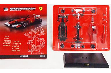 【中古】ミニカー 1/64 Ferrari F1-90 No.1 A.PROST 1990(レッド) 「フェラーリ フォーミュラカー ミニカーコレクション3」 サークルK・サンクス限定