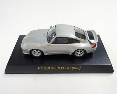 【中古】ミニカー 1/64 Porsche 911 RS 993 (シルバー) 「ポルシェ ミニカーコレクション4」 サークルK・サンクス限定