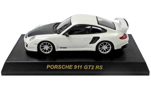 【中古】ミニカー ポルシェ 911 GT2 RS 997 (ホワイト) 「1/64 ポルシェ ミニカーコレクション4」 サークルK・サンクス限定