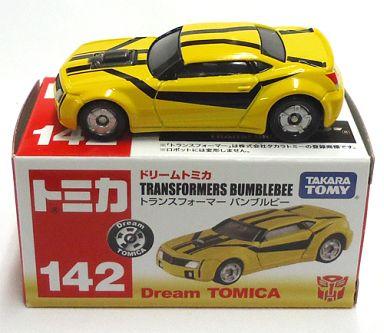 【中古】ミニカー No.142 バンブルビー(トランスフォーマー) 「ドリームトミカ」