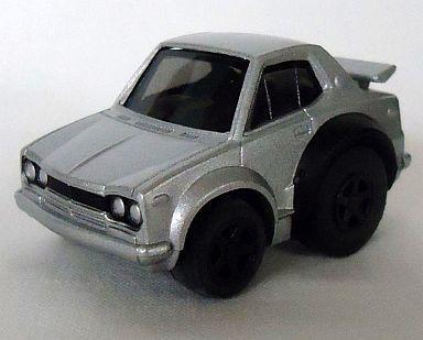 【中古】ミニカー チョロQ STD-54 ハコスカ GT-R (シルバー)