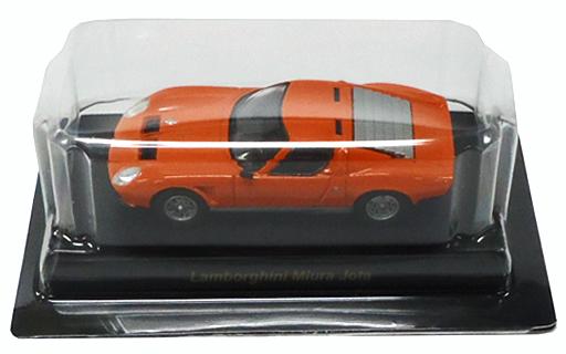 【中古】ミニカー 1/64 Lamborghini Miura Jota(オレンジ) 「ランボルギーニ ミニカーコレクション4」 サークルK・サンクス限定
