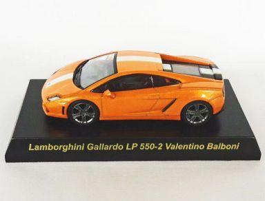 【中古】ミニカー 1/64 Lamborghini Gallardo LP550-2 Valentino Balboni(オレンジ) 「ランボルギーニ ミニカーコレクション3」 サークルK・サンクス限定