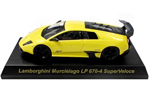 【中古】ミニカー 1/64 Lamborghini Murcielago LP670-4 SuperVeloce(イエロー) 「ランボルギーニ ミニカーコレクション3」 サークルK・サンクス限定