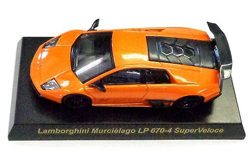 【中古】ミニカー 1/64 Lamborghini Murcielago LP670-4 SuperVeloce(オレンジ) 「ランボルギーニ ミニカーコレクション3」 サークルK・サンクス限定
