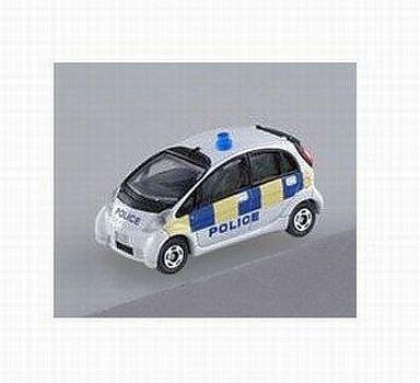 【中古】ミニカー 4.三菱 i-MiEV 英国警察仕様 「オリジナルトミカ こだわりパトカーコレクション3」