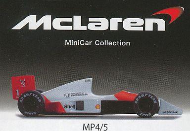 【中古】ミニカー 1/64 MP4/5 NO.1 「マクラーレン ミニカーシリーズ」