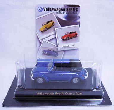 【中古】ミニカー 1/64 Volkswagen Beetle Convertible(ブルー) 「フォルクスワーゲン ミニカーコレクション」 サークルK・サンクス限定