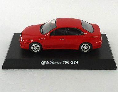 【中古】ミニカー 1/64 アルファロメオ 156 GTA(レッド) 「アルファロメオ ミニカーコレクション2」 サークルK・サンクス限定