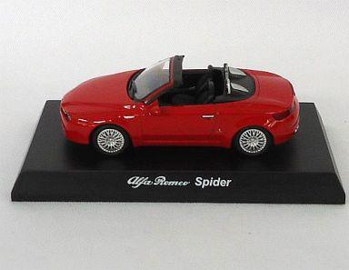 【中古】ミニカー 1/64 アルファロメオ Spider(レッド) 「アルファロメオ ミニカーコレクション2」 サークルK・サンクス限定