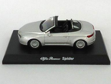 【中古】ミニカー 1/64 アルファロメオ Spider(シルバー) 「アルファロメオ ミニカーコレクション2」 サークルK・サンクス限定