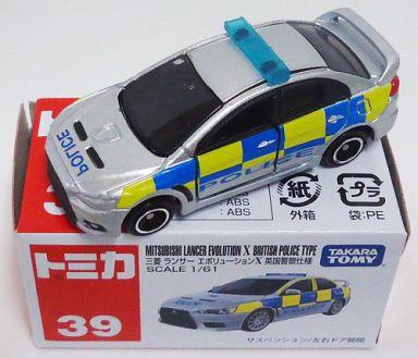 【中古】ミニカー 三菱 ランサーエボリューションX 英国警察仕様 「トミカ No.39」