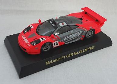 【中古】ミニカー 1/64 McLaren F1 GTR No.44 LM 1977(レッド×シルバー) 「マクラーレン F1 GTR レーシング ミニカーコレクション」 サークルK・サンクス限定