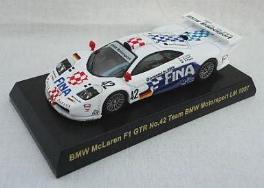 【中古】ミニカー 1/64 BMW McLaren F1 GTR No.42 Team BMW Motorsport LM 1997(ホワイト) 「マクラーレン F1 GTR レーシング ミニカーコレクション」 サークルK・サンクス限定