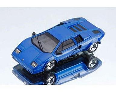 【中古】ミニカー 1/64 ランボルギーニ カウンタック LP400S(メタリックブルー) 999個限定 [PS010B]