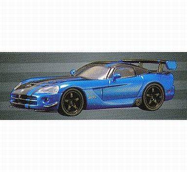 【中古】ミニカー 1/64 Dodge Viper SRT10 ACR(メタリックブルー) 「USAスポーツカーミニカーコレクション2」