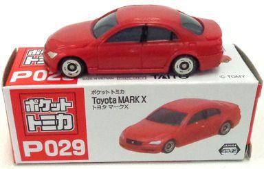 【中古】ミニカー トヨタ マークX(レッド) 「ポケットトミカ Vol.10 P029」