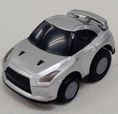 【中古】ミニカー チョロQ ハイブリッド! ゼンマイタイプ 日産 GT-R(シルバー) [QZ-01]