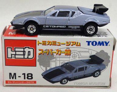 【中古】ミニカー 1/61 デトマソパンテーラ GTS(シルバー) 「トミカミュージアム スーパーカー館 M-18」
