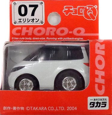 【中古】ミニカー チョロQ STD-07 エリシオン(ホワイト) 「スタンダード No.07」