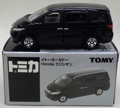【中古】ミニカー 1/65 Honda エリシオン(ブラック) 「トミカ」 イトーヨーカドー限定