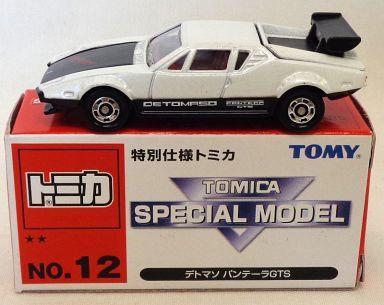 【中古】ミニカー 1/61 デトマソ パンテーラGTS(ホワイト×ブラック) 「特別仕様トミカ No.12」