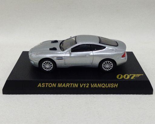 【中古】ミニカー 1/72 Aston Martin V12 Vanquish TypeA(シルバー) 「007 J.ボンド ミニチュアモデルシリーズ」 サークルK・サンクス限定