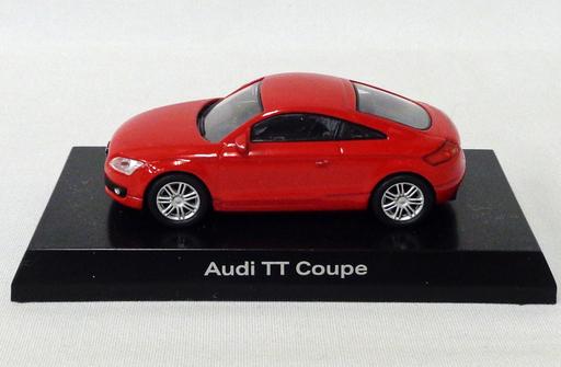 【中古】ミニカー 1/64 Audi TT Coupe(レッド) 「アウディ ミニカーコレクション」 サークルK・サンクス限定