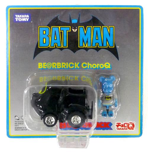 【中古】ミニカー BE@RBRICK -ベアブリック- チョロQ バットマンver. 「バットマン」