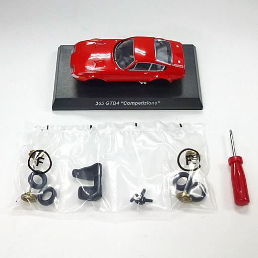 """【中古】ミニカー 1/64 Ferrari 365 GTB """"Competizione""""(レッド) 「フェラーリ ミニカーコレクション11」 サークルK・サンクス限定"""