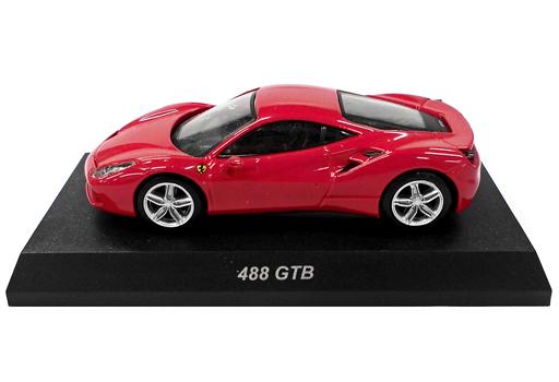 【中古】ミニカー 1/64 Ferrari 488 GTB(レッド) 「フェラーリ ミニカーコレクション11」 サークルK・サンクス限定