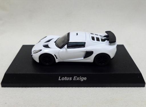 【中古】ミニカー 1/64 Lotus Exige(ホワイト) 「ロータス ミニカーコレクション」 サークルK・サンクス限定